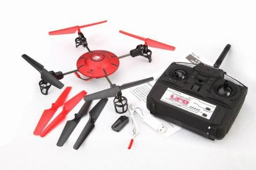 380V 4Channel 2.4G Video UFO Quadcopter(Color May Vary)