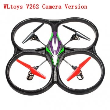 WLToys V262 Green -Camera Version (new function on PCB board) (camera not included)